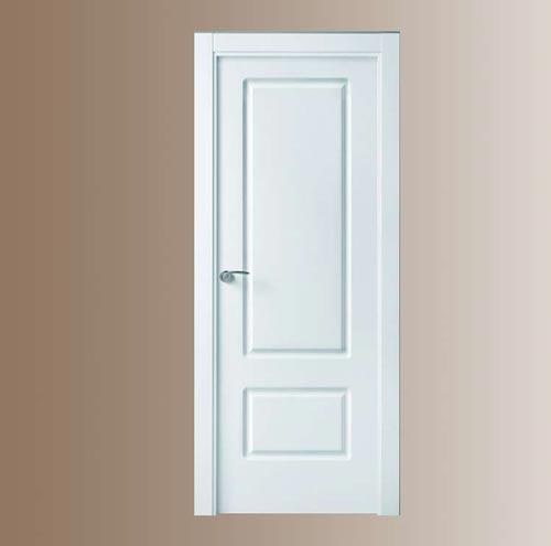 Puertas blancas de madera modelo 212 for Puertas madera blancas