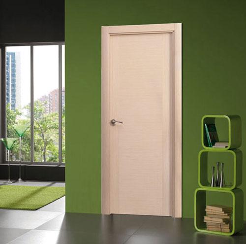 Puertas modernas de interior de madera for Modelos de zapateras de madera modernas
