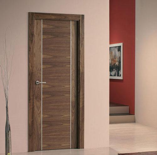 Puertas modernas de interior de madera for Modelos de puertas de interior modernas