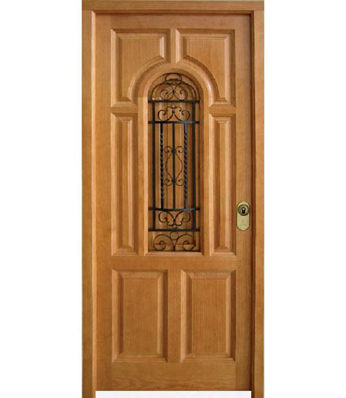 Puertas exteriores de madera for Puertas de madera blancas para exterior