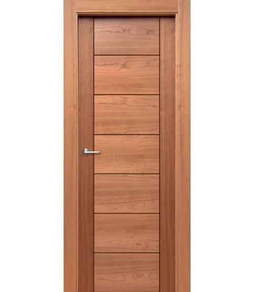 Puertas de interior de madera modelo m 2 for Puertas madera rusticas interior