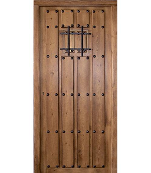Puertas r sticas de madera modelo r 10 puerta de madera maciza for Puertas de madera en oferta