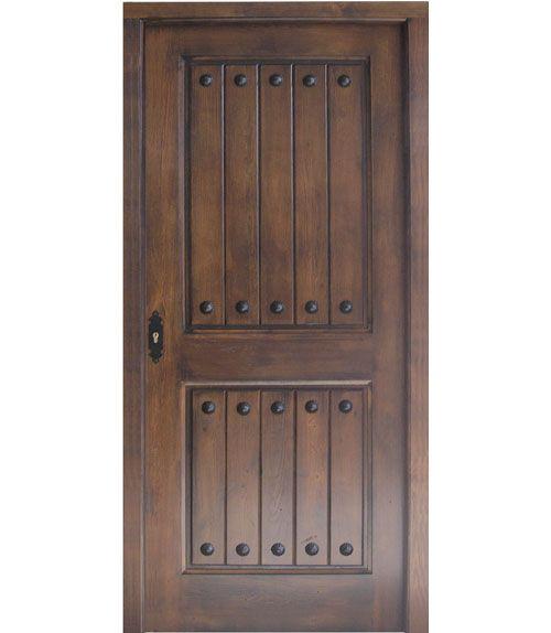 Pin puertas lamina madera rusticas pictures on pinterest for Puertas rusticas exterior