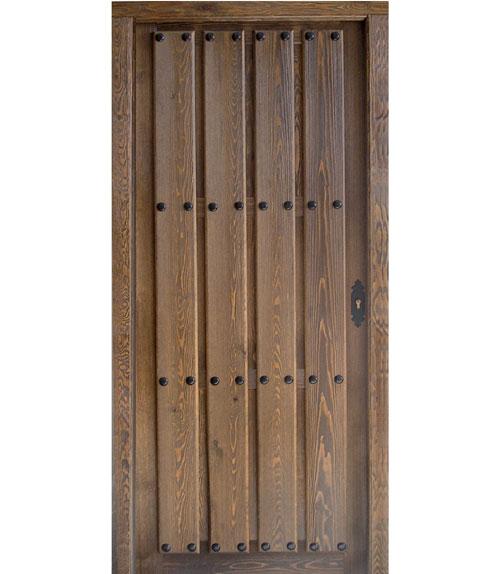 Puertas r sticas de madera modelo r 12 - Puertas de paso rusticas ...