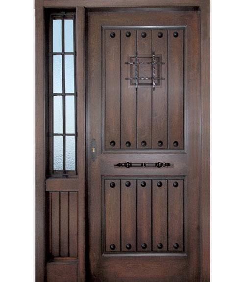 Puertas de interior y exterior r sticas for Puertas de interior y exterior
