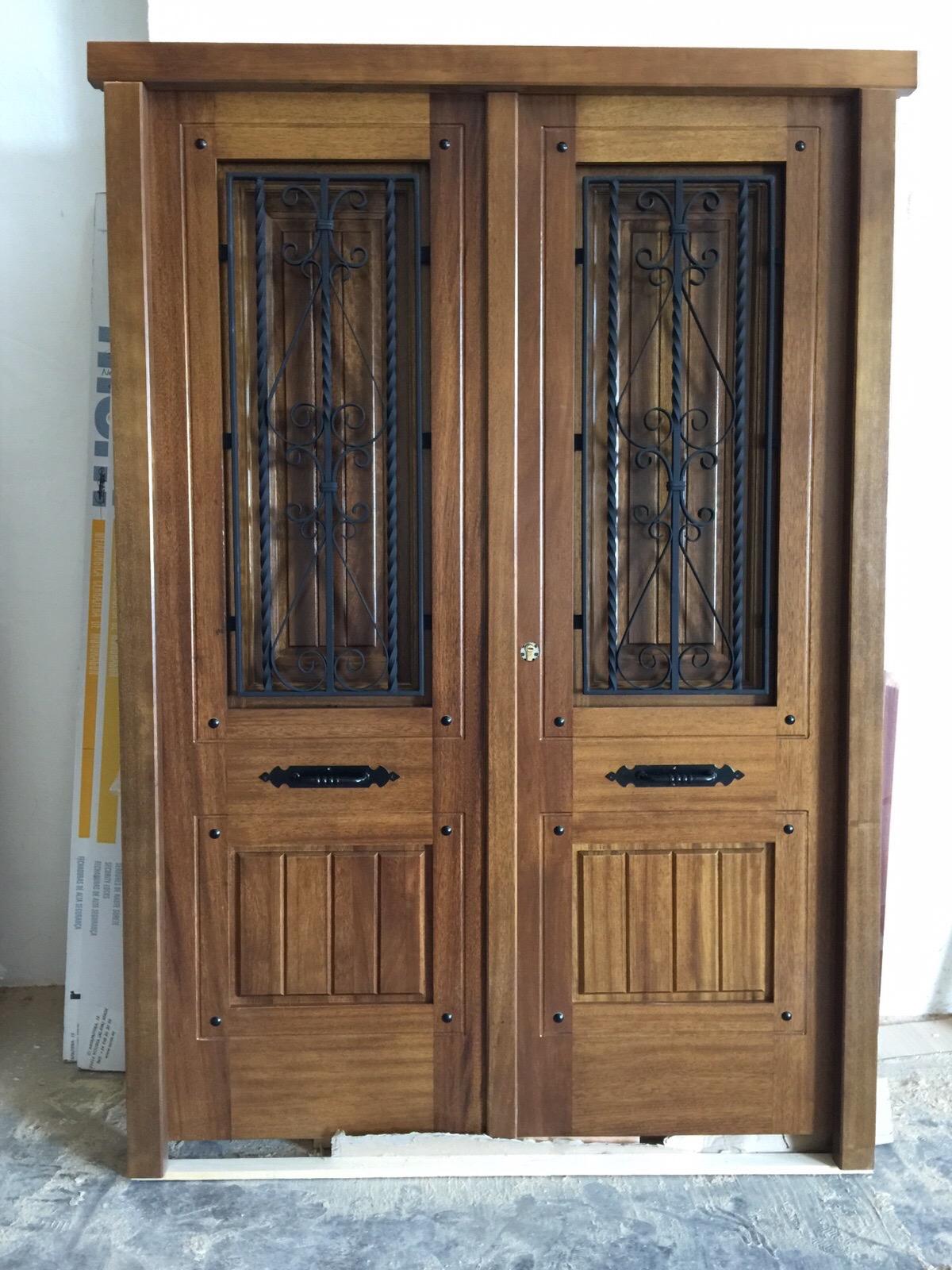 Puertas en valera de abajo best puerta moderna con incrustacin en aluminio with puertas en - Puertas valera de abajo ...